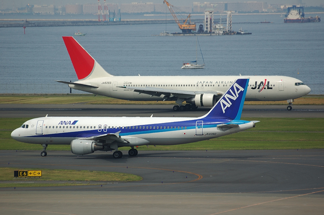 Boeing767とAirbus A320