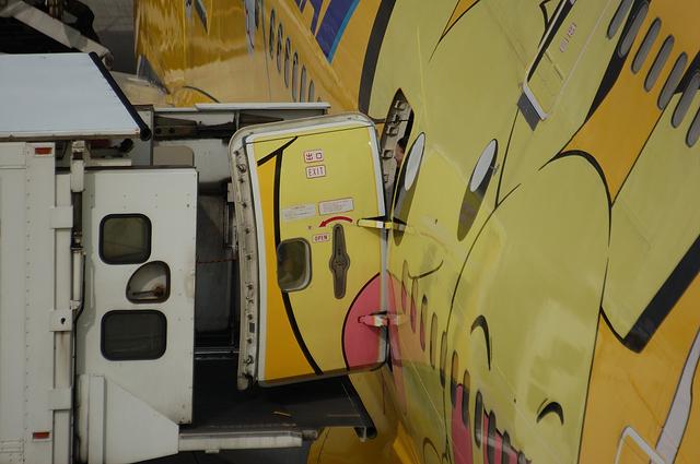 Boeing747 Door Open 3