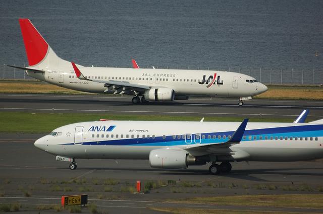 JALとANAのB737-800