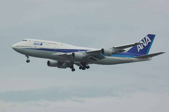 ANA Boeing747 RWY16L Approach 3