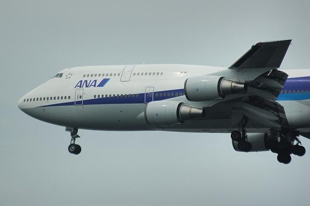 ANA Boeing747 RWY16L Approach 4