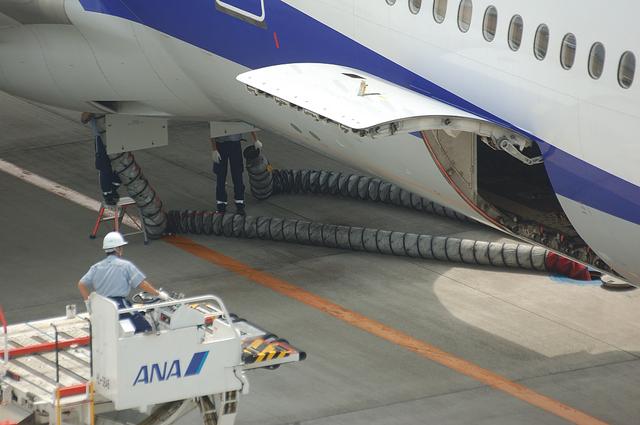 機内清掃の皆様