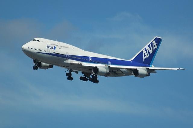 ANA Boeing747-400 VOR-C 3