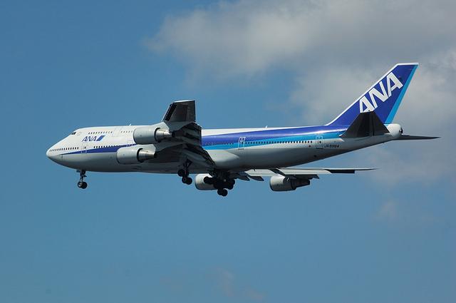 ANA Boeing747-400 VOR-C 4
