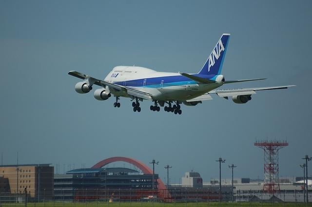 ANA Boeing747-400 VOR-C 5