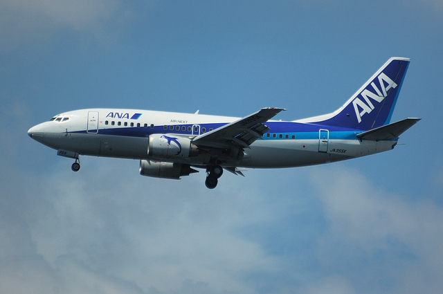 AIR NEXTのB737-500(JA355K)