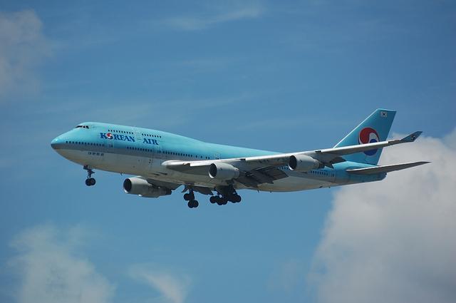 大韓航空 B747-400