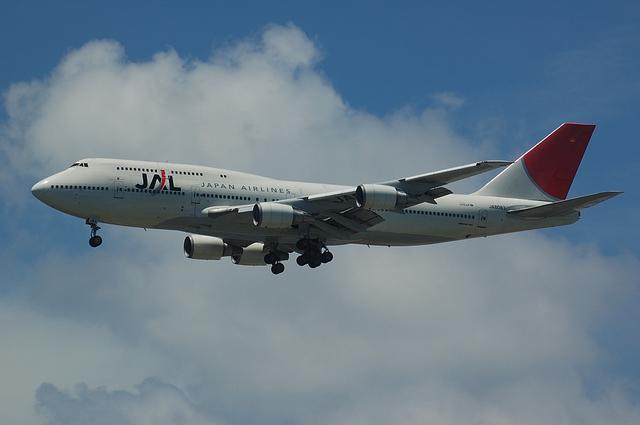JAL Boeing747-400 VOR-C 4