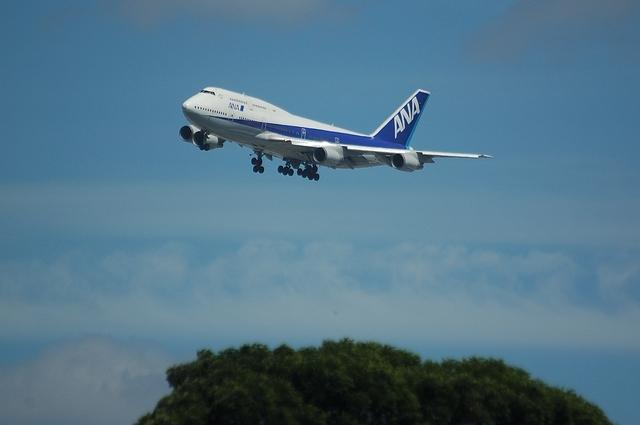 ANA Boeing747-400 VOR-C 2