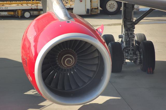 ヴァージンのAirbus A340