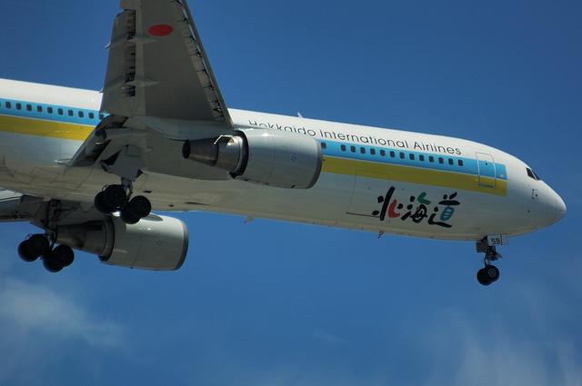 Boeing767の東京カーブ 3
