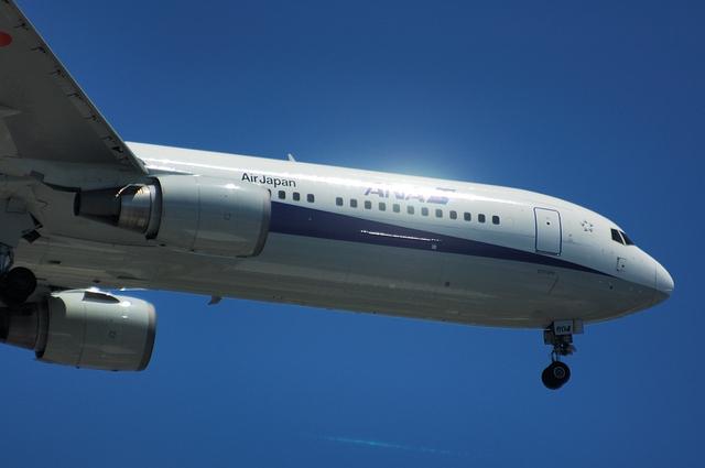 Boeing767の東京カーブ 7