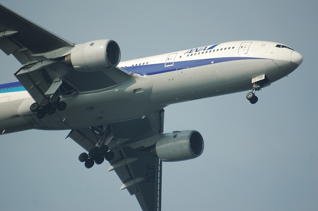 ANA Boeing777 ファイナルターン 3
