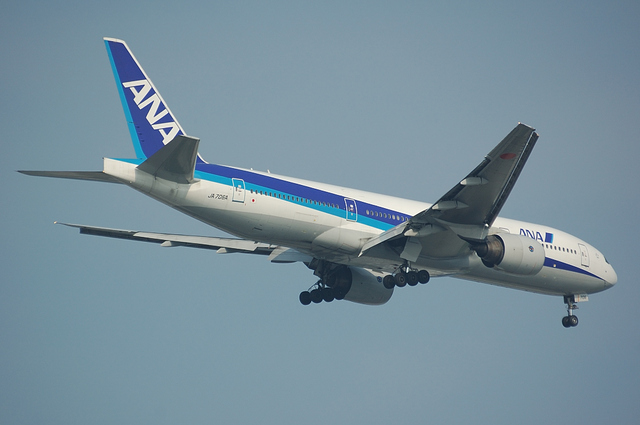 ANA Boeing777 ファイナルターン 4