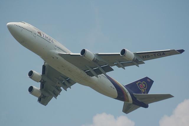 タイ国際航空 B747 2