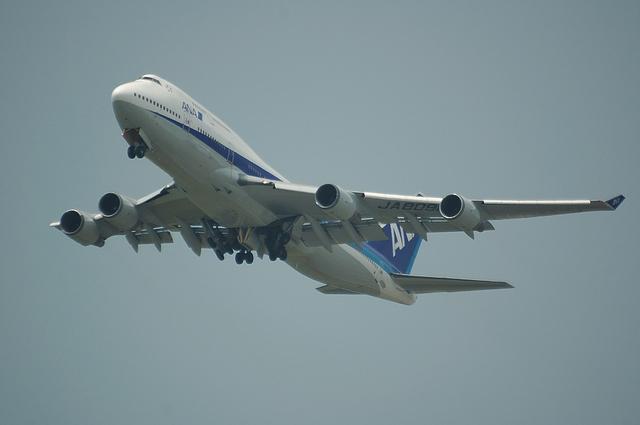 ANA B747-400 4