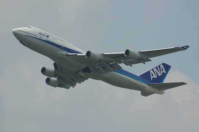 ANA B747-400 5