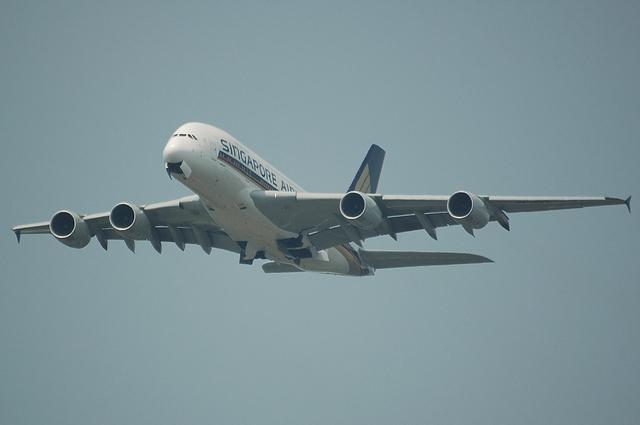 SQ A380 3