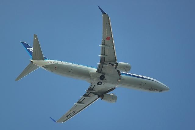 Boeing737 上昇 1