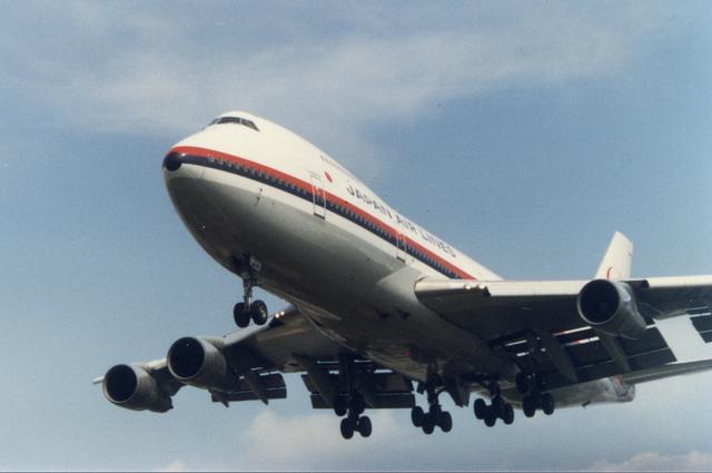 JAL Boeing747SR 2