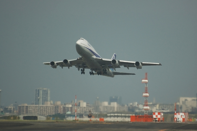 ANA B747-400 Take Off 1