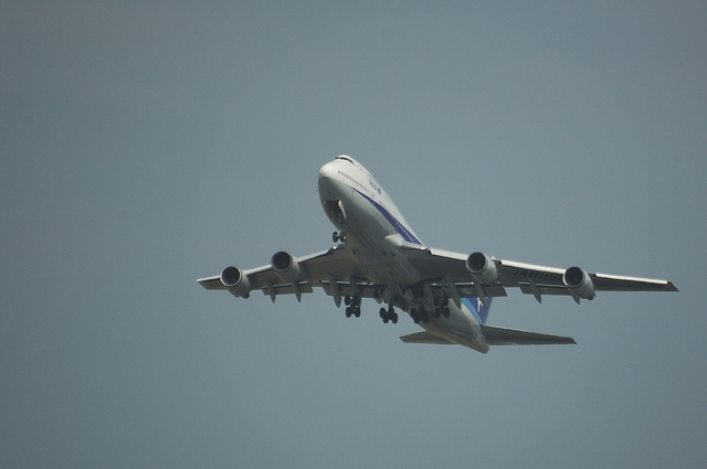 ANA B747-400 Take Off 2