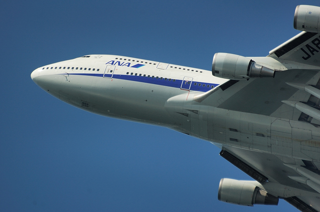 ANA B747-400 Take Off 6