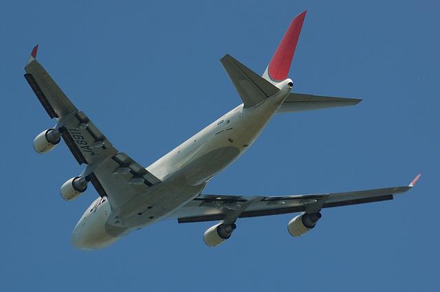 JAL B747-400F 3