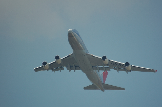 JAL B747-400F 4