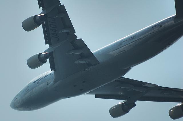 JAL B747-400F 6