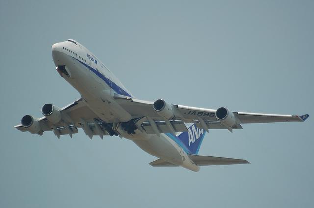 ANA B747-400 3
