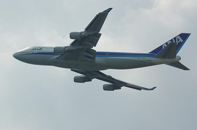 ANA B747-400 6