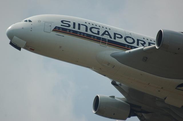 SQ A380 5