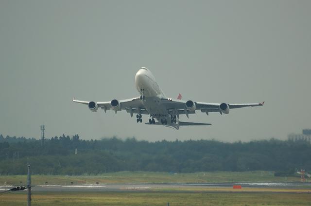 JAL B747-400 6