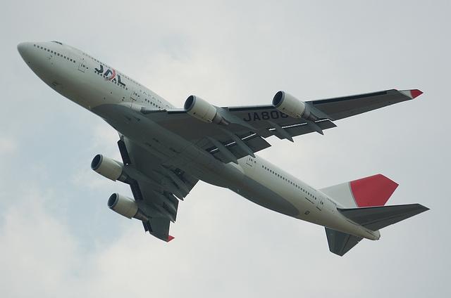 JAL B747-400 7