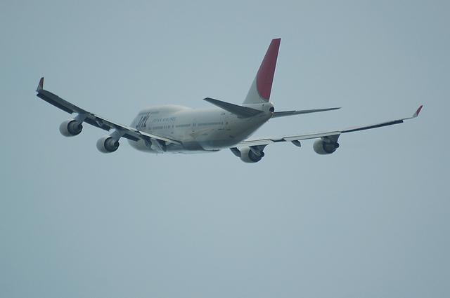 JAL B747-400 9