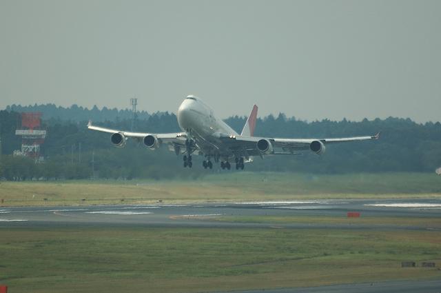JAL B747-400 10