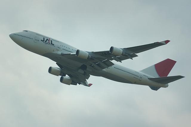 JAL B747-400 11