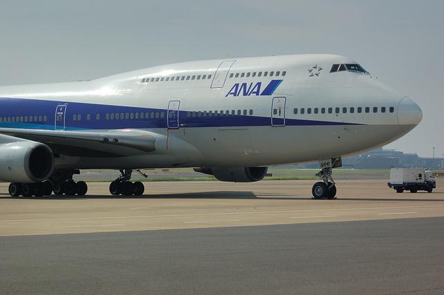 B747の機首アップ