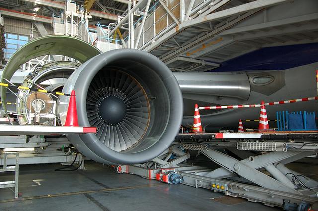 B767エンジン