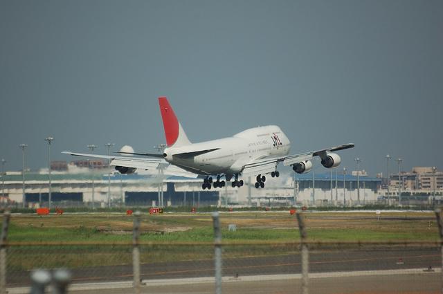 JAL B747-400 5