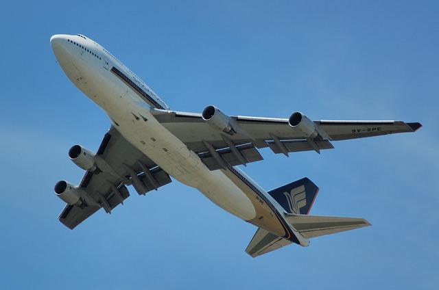 SQ B747-400 2