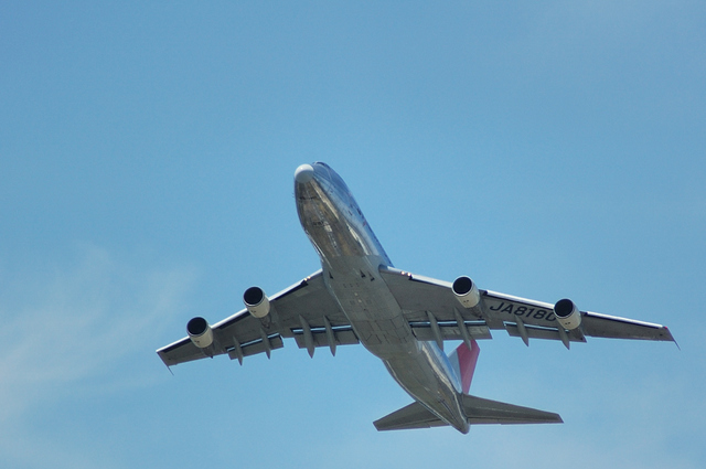 JAL B747-200F 2