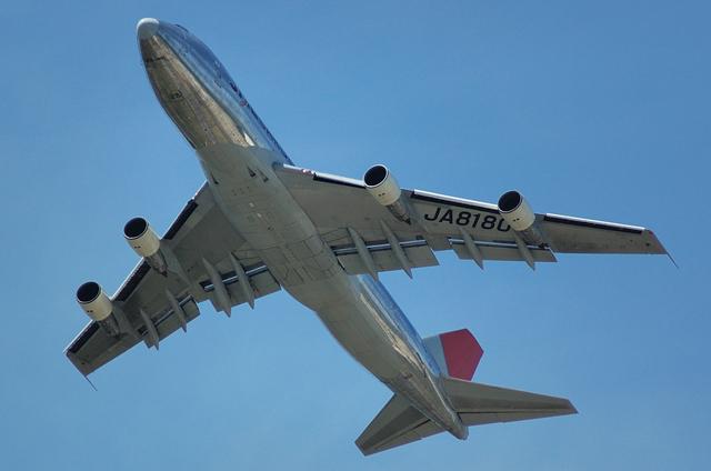 JAL B747-200F 3