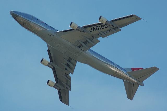 JAL B747-200F 4