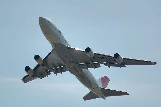 JAL B747-400 2