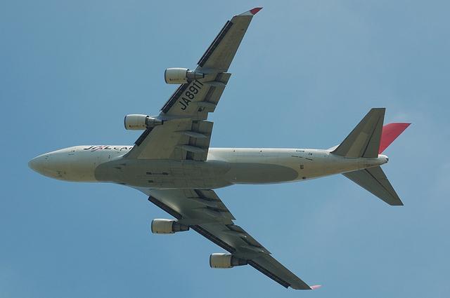 JAL B747-400F 1