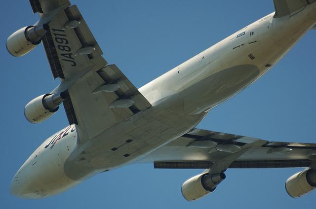 JAL B747-400F 2