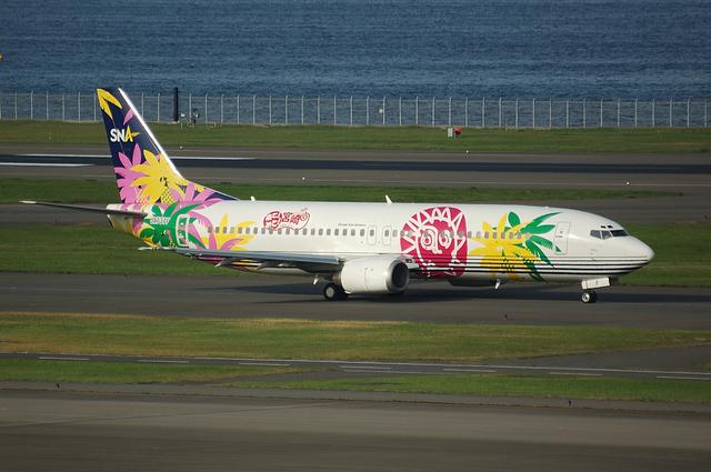 SNA Boeing737-400 1