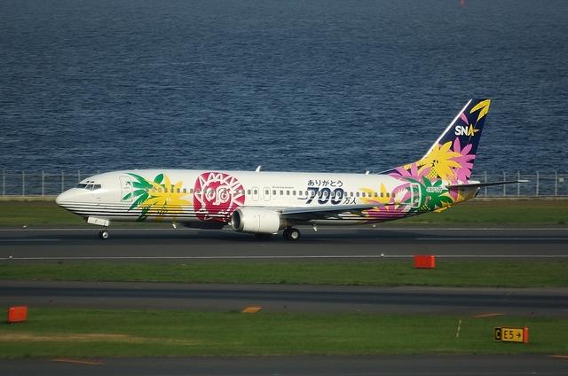 SNA Boeing737-400 3